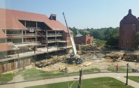 Construction On University Commons
