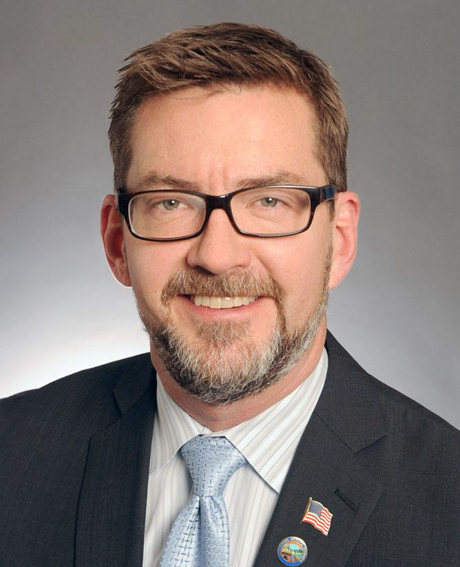 Scott Dibble, the Minnesota senator who introduced the new bill to legalize gay marriage in his state.