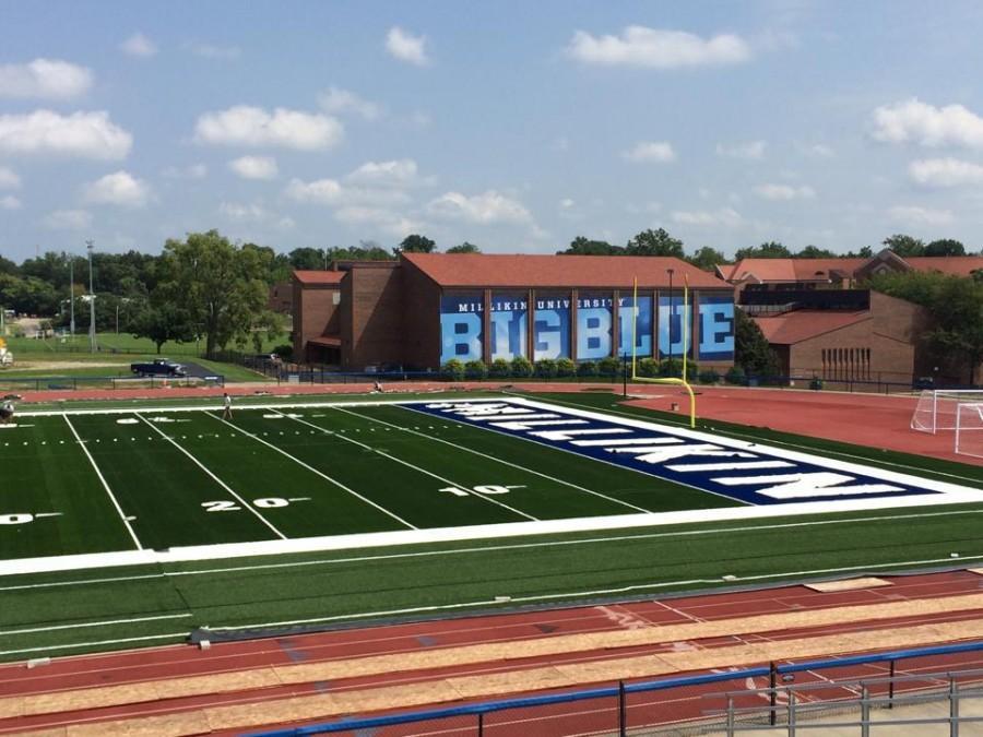 Big+Blue+Dedication%3A+Frank+M.+Lindsay+Field