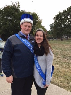 2015 Homecoming King and Queen Crowned
