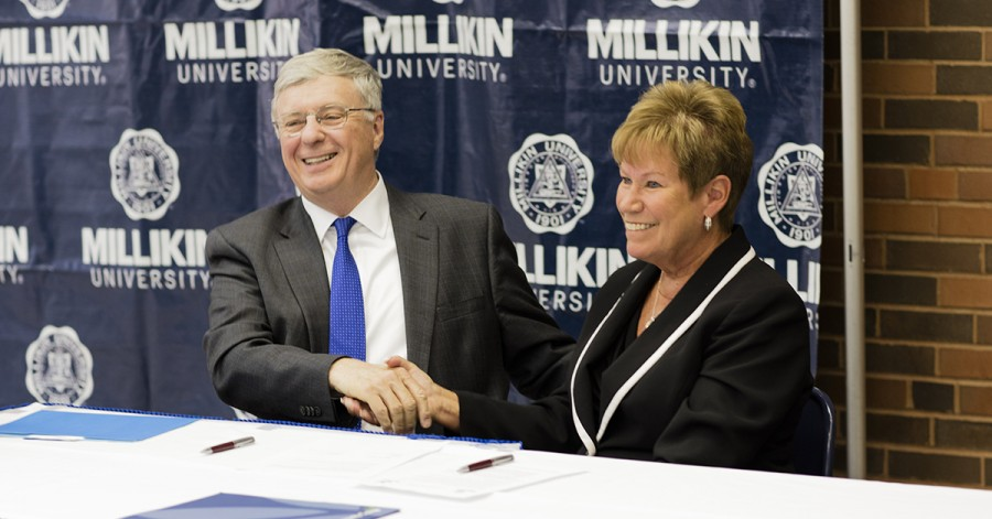 A partnership builds between Millikin and Richland