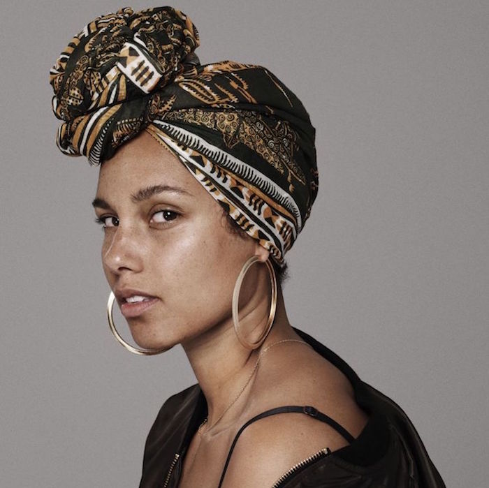 Alicia Keys' No Makeup Movement
