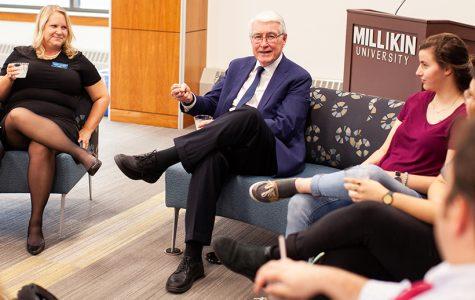 Jim Edgar Comes to Millikin