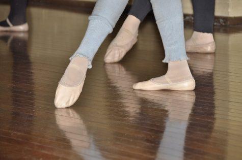 Centre Work Legs Feet Point Ballet Foot Exercise