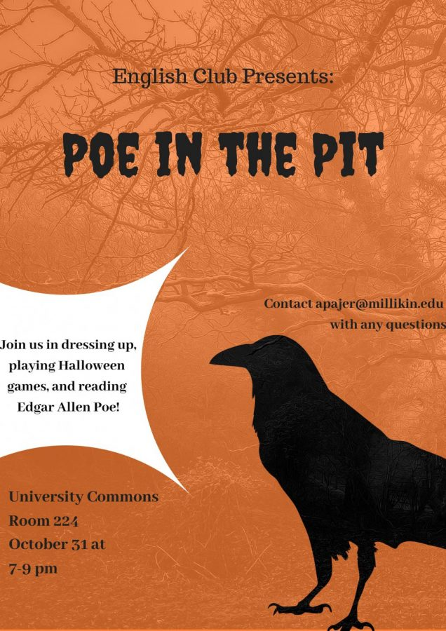 English Club Plan Annual Poe in the Pit Celebration