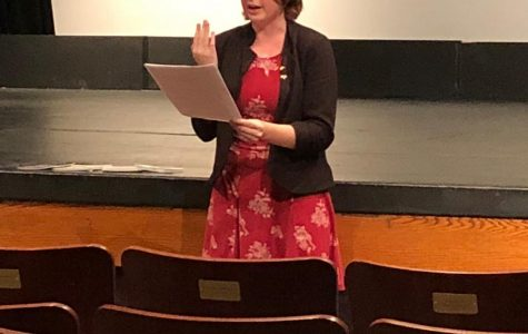 Kathryn Coffey read her work from the Fall 2019 issue of
