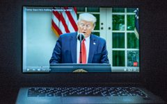 A Youtube clip of President Donald J. Trump announcing the U.S. will stop funding the World Health Organization.